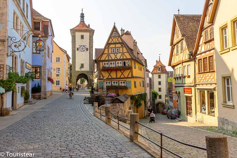road trip through Germany by van