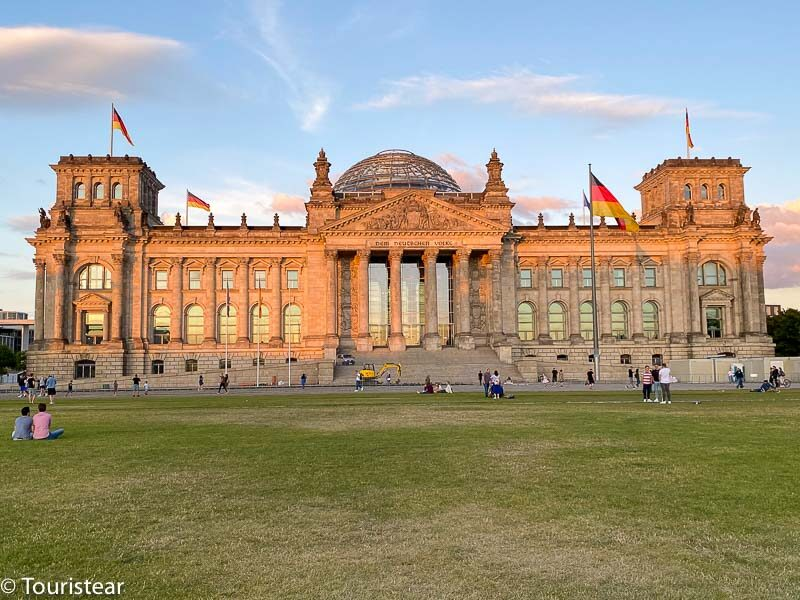 Parlamento Alemán Reichstag
