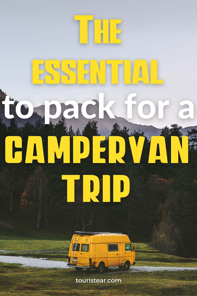 The essential to pack for a campervan trip