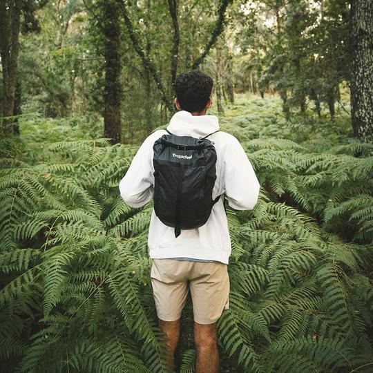 Tropicfeel Black Backpack