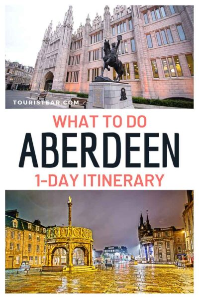 Aberdeen 1-day itinerary
