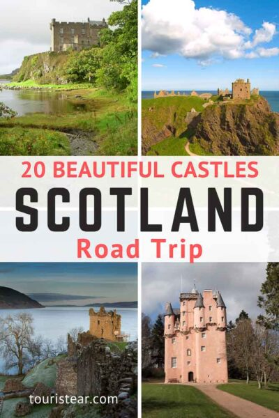 20 castles to visit in Scotland
