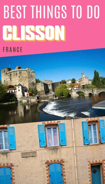 1-day itinerary Clisson France