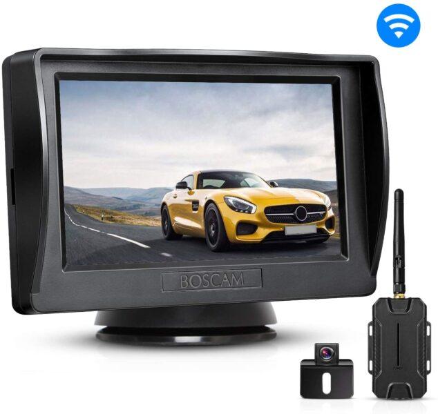 car or van rear view camera