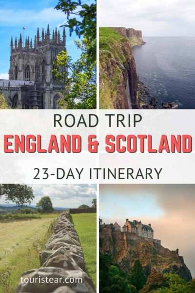 23 days of a road trip in England and Scotland