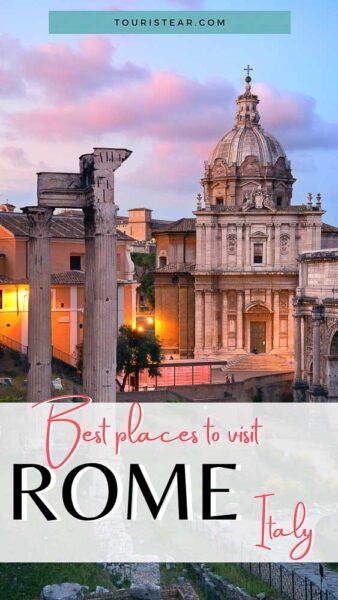 Best places to go in Rome