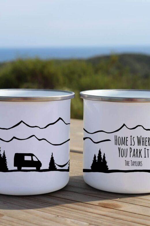 tazas furgoneteras