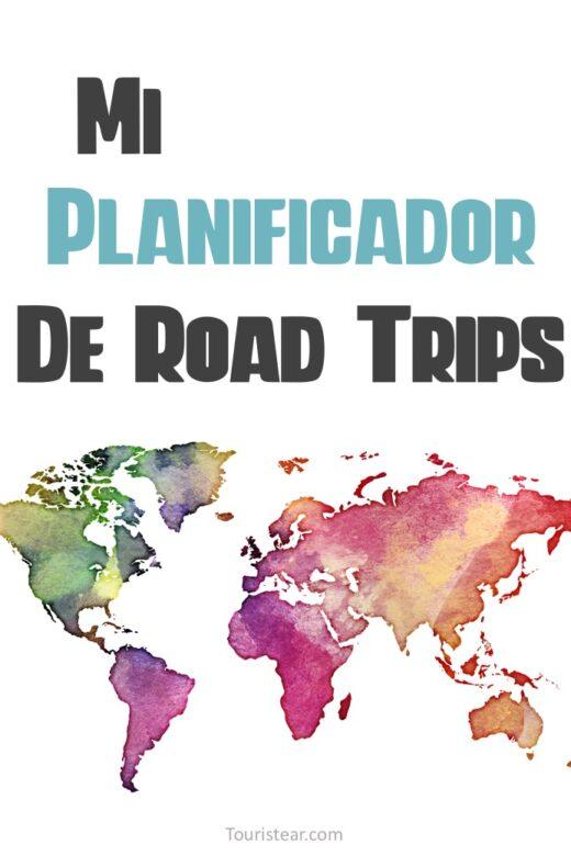 Planificador de Road Trip PDF imprimir