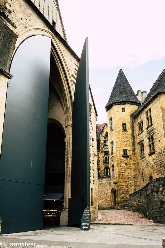 Puertas de Iglesia Sainte-Marie Sarlat
