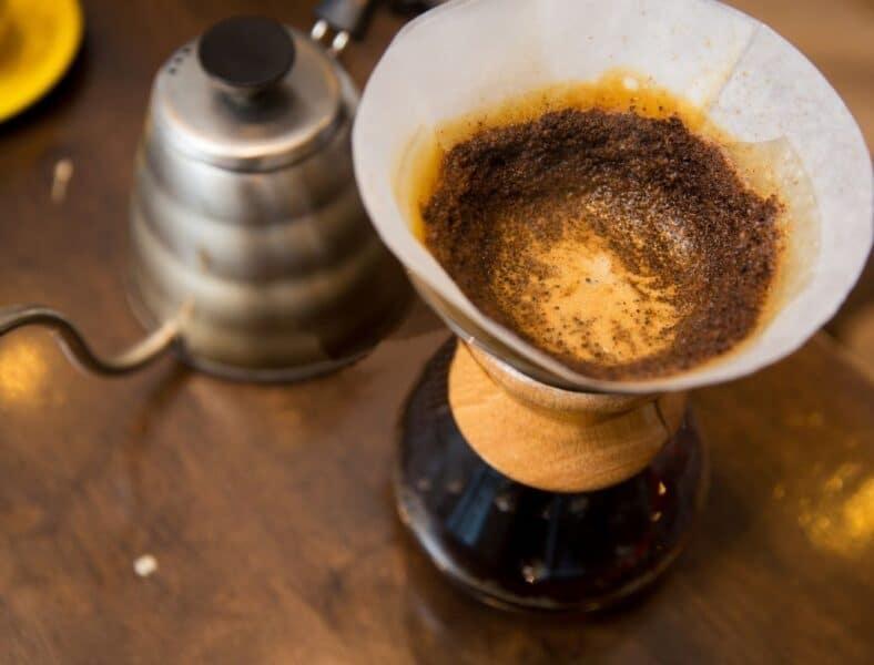 Cafe pour over para viajes