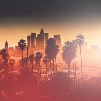 Los Angeles al atardecer