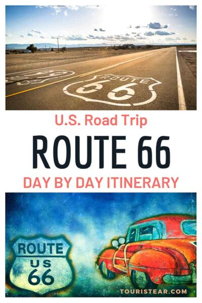 US Route 66 road trip itinerary