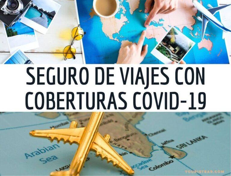 Mejor Seguro de Viajes COVID-19 + DESCUENTO