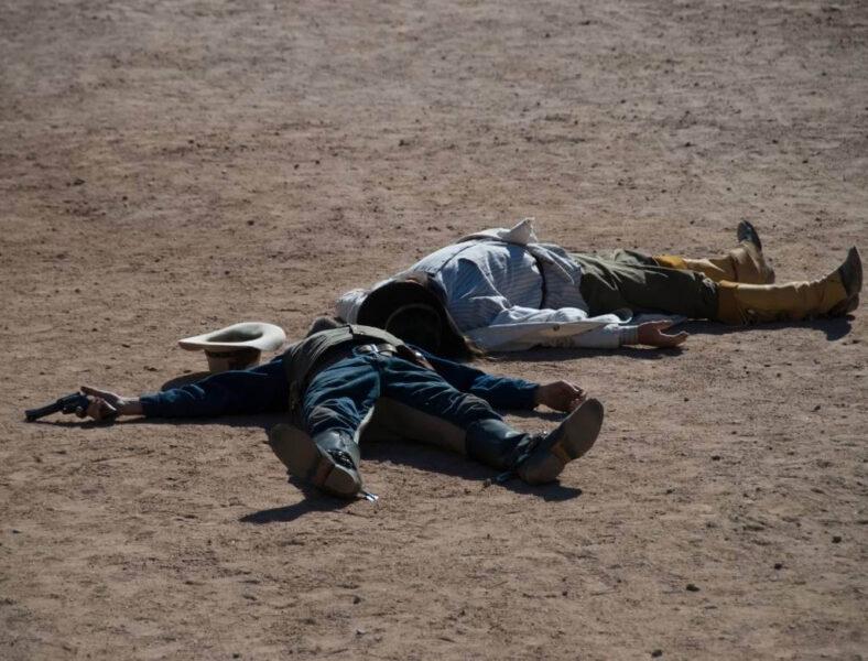 gunfighters Oatman Arizona