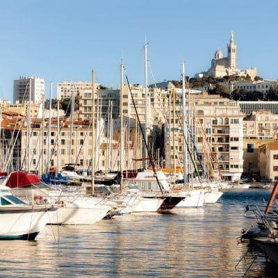 Marsella, capital de la Costa Azul