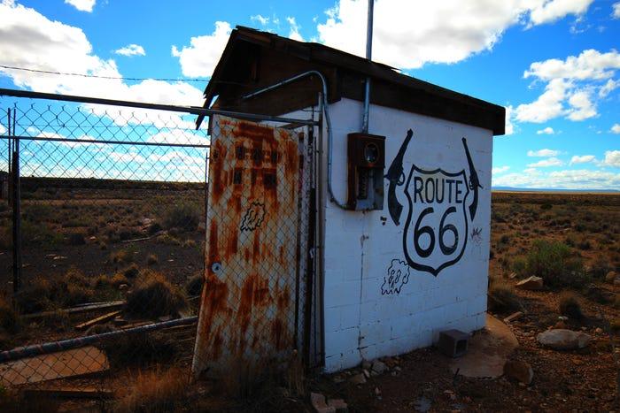 Two Guns Ghost Town, Arizona