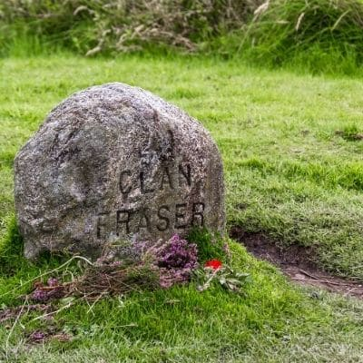 Culloden, lápida Fraser, Escocia