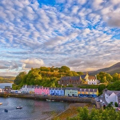 Isla de Skye, panorámica de Portree