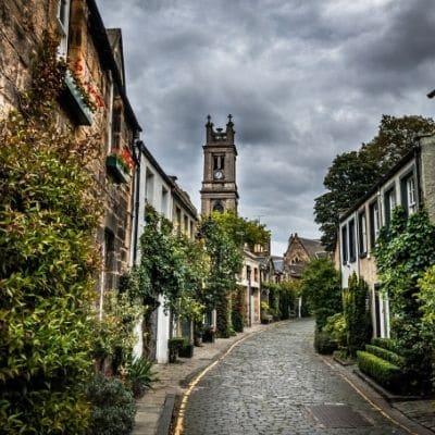 Calles pintorescas de Edimburgo
