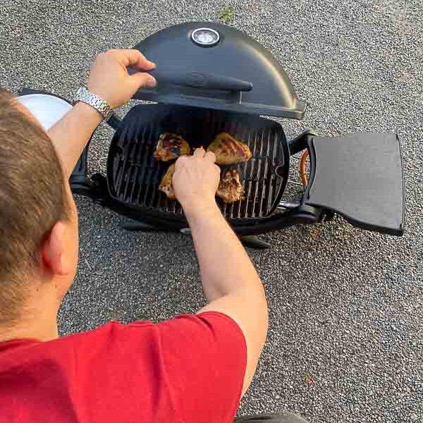 Weber Q1200 barbecue portatil