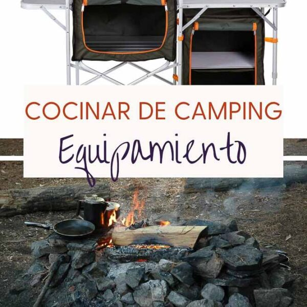 equipamiento para cocinar de camping