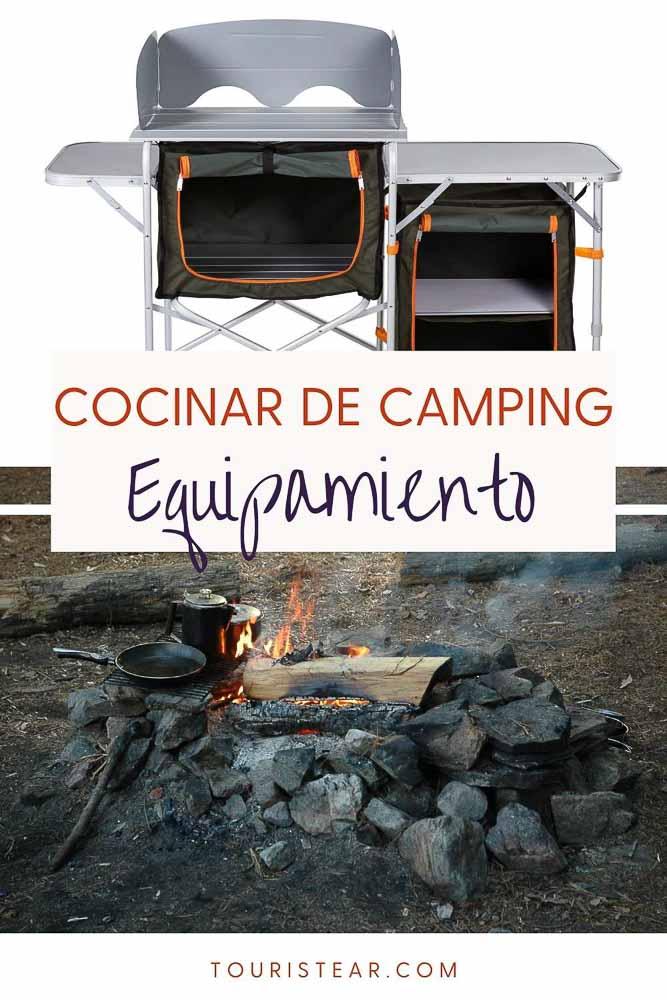 Qué llevar para cocinar de camping