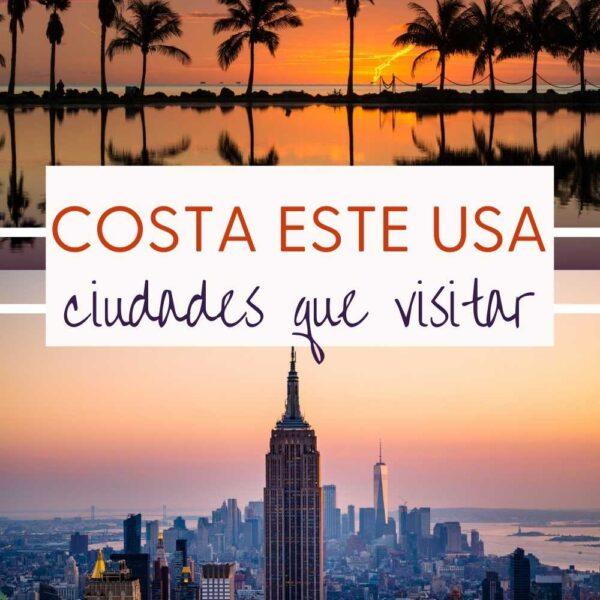 Ciudades de la Costa Este de EEUU