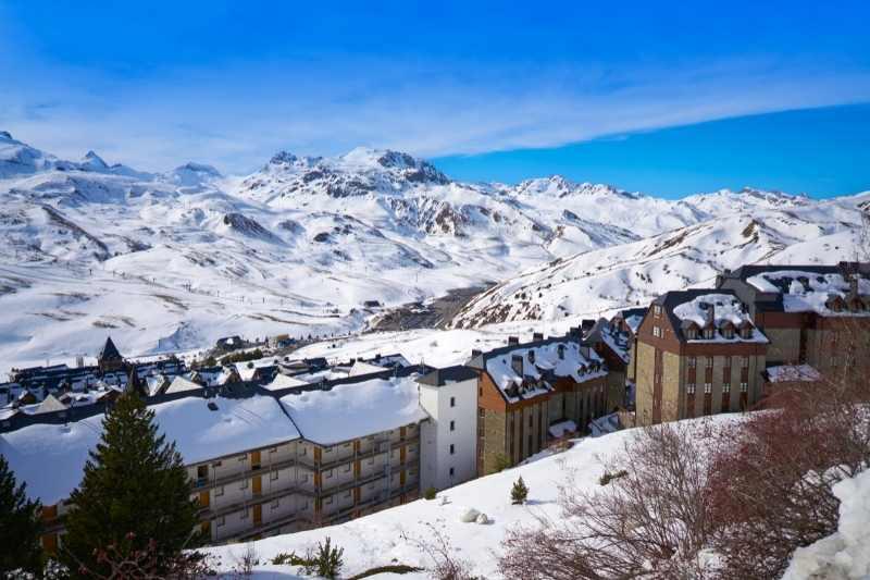 Vista del Pirineo y Formigal