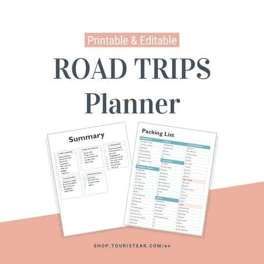 Road Trip Planner PDF